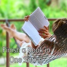 Bucket list: take a day to relax and finish a book in one sitting! I would love to do this!!!!!!!!!!!
