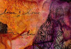 Buddha Abstraction... original  by Kathy Morton Stanion