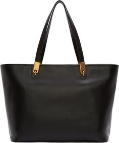 Classic handbag: Marc by Marc Jacobs Black Leather Tote Bag
