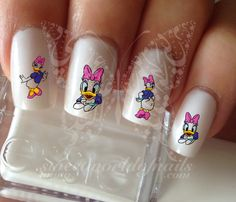 Daisy Duck water Decals Transfers Wraps