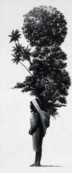 by Pedro Ruiz Sierra Nevada, Colombian Art, Hispanic Art, Aesthetic Room Decor, Illustrations, Photomontage, Art For Sale, Contemporary Art, Street Art