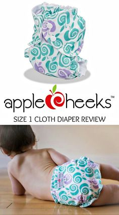 4eb34fe75e444c AppleCheeks Cloth Diaper Review - Size 1 newborn Cloth Training Pants
