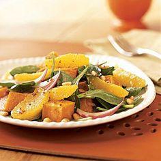 Roasted Sweet Potato and Orange Salad | Cookinglight.com
