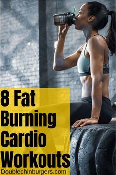 Check out these at home fat burning cardio workouts for women. These full body are great for getting rid of stubborn belly fat and build muscle. #fatburning Belly Fat Diet Plan, Belly Fat Workout, Lose Belly Fat, Loose Belly, Flat Belly, Belly Workouts, Tummy Workout, Lose Fat, Cardio Workout At Home