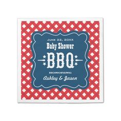 Avoid any messy dinners with Summer napkins from Zazzle. Browse through our marketplace of paper and cloth napkins ranging in different styles and sizes. Baby Shower Napkins, Party Napkins, Cocktail Napkins, Wedding Napkins, Wedding Invitations, Monogrammed Napkins, Custom Napkins, Couples Shower Gifts, Birthday Bbq