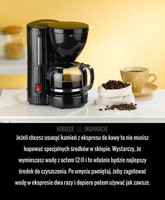 Jeżeli chcesz usunąć kamień z ekspresu do kawy to nie musisz kupować specjalnych środków w sklepie. Wystarczy, że wymieszasz wodę ...