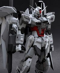Custom Build: MG 1/100 Impulse Gundam Blanche [Detailed]