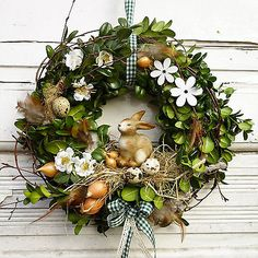 Door wreath spring Easter wreath Easter decoration Easter decoration bunny spring wreaths Easter wreath DIY- photo by Jacob Spring Door Wreaths, Easter Wreaths, Christmas Wreaths, Moss Wreath, Diy Wreath, Easy Diy Christmas Gifts, Easter Projects, Flower Arrangements, Floral Wreath