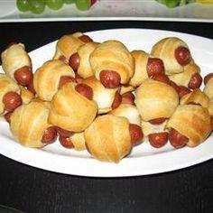Finger Food- lil smokies & crescent rolls