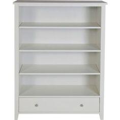 £99.99 Larvik Bookcase - White at Argos.co.uk  Size H120, W90, D40cm