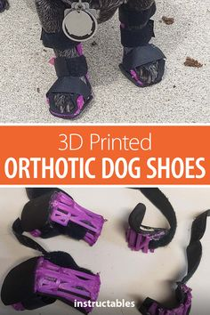 Learn how you can 3D print and shape orthotic shoes for a tiny dog. #Instructables #3Dprint #pet #health #splint Velcro Tape, Tiny Dog, 9 Month Olds, Cnc Projects, Dog Things, Happy Puppy, Partners In Crime, Pet Health, How To Get Money