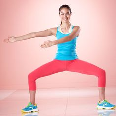 Tone your entire lower half with this Hop Squat Around the World. #fitness #strength | Health.com