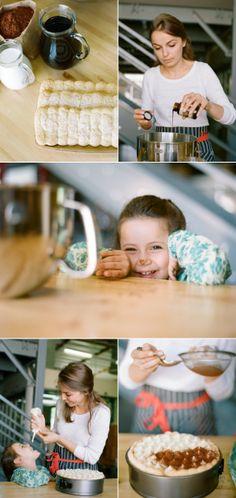 Tiramisu Cake Recipe Using Dripp's Cold Brew Coffee.
