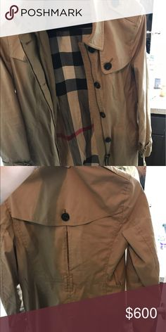 Burberry Trench Burberry size small jacket Burberry Jackets & Coats Trench Coats