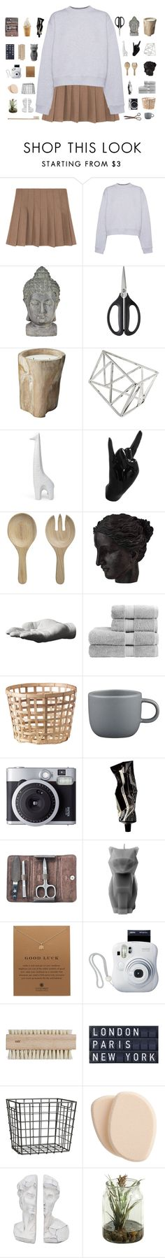 """""""f a l l l"""" by abbeyso ❤ liked on Polyvore featuring Acne Studios, Universal Lighting and Decor, OXO, Topshop, Jonathan Adler, Thelermont Hupton, Crate and Barrel, Ren-Wil, Areaware and Christy"""