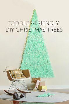 7 Toddler-Friendly DIY Christmas Trees