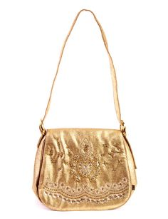 Mala Arabesque Besace Dourada. 43,99€(111€)
