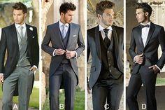 ¿Cuál de estos trajes te gustaría que usara tu futuro esposo el día de su boda?
