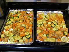 Best Convection Oven Recipes | Convection Oven Roasted Vegetables Recipe Nuwave Oven Recipes, Toaster Oven Recipes, Cooking Recipes, Healthy Recipes, Oven Vegetables, Roasted Vegetables, Veggies, Convection Oven Cooking, Baked Potato Oven