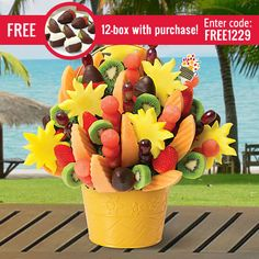 Edible Arrangements® fruit baskets - Watermelon Kiwi Summer Bouquet™ Dipped Strawberries