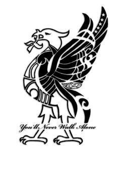 Liverpool Tattoo, Liverpool Logo, Liverpool Champions, Liverpool Football Club, New Tattoos, Tribal Tattoos, Tatoos, Ynwa Tattoo, Alone Tattoo