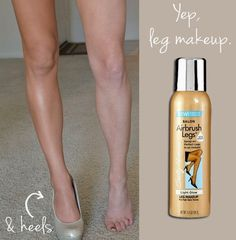 Have you guys tried this stuff? It's amazing! It turns your legs into tan, smooth, shiny beams of light!