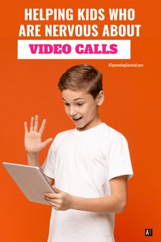 Helping Kids Who are Scared of Video Calls Parenting Advice, Kids And Parenting, How To Calm Anxiety, Sensory Issues, Special Needs Kids, Blog Love, Coping Skills, School Counseling