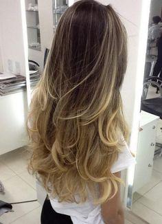 fotos de cabelos com mechas ombre hair - Pesquisa Google