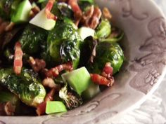 Crispy Brussels Sprouts from FoodNetwork.com