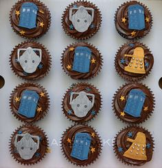 Dr who cupcakes!