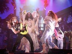 Rock of Ages- best broadway Matinee to get tipsy