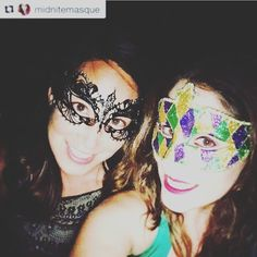 These two are smashing the masquerade look   @midnitemasque