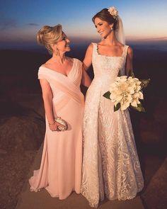 9dfa00fb3a Vestido para mãe da noiva  150 fotos para você escolher o modelo ideal