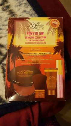 New,Foxy Glow Bronzing Collection...
