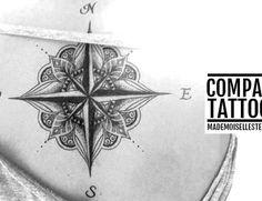 tattoo idea compass