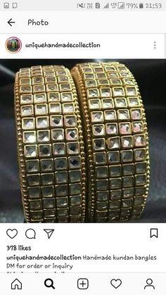 Silk Thread Bangles Design, Silk Bangles, Thread Jewellery, Fashion Jewellery, Jewelry Art, Beaded Jewelry, Jewelry Design, Shrink Plastic, Stylish Jewelry