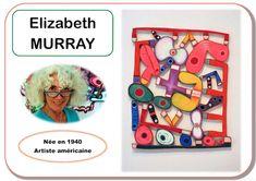 Portraits d'artiste Elizabeth Murray chez Kaloo