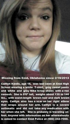 2/21/2013 HAPPY UPDATE - Caitlyn Kiedis is home safe!