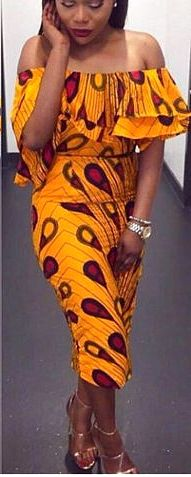 50+ best African print dresses   Looking for the best & latest African print…