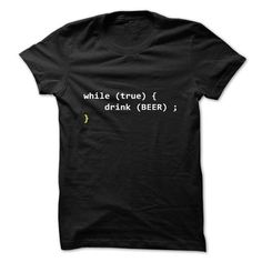 While true drink beer - programmer LIMITED TIME ONLY. ORDER NOW if you like, Item Not Sold Anywhere Else. Amazing for you or gift for your family members and your friends. Thank you! #beer
