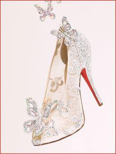Christian louboutin cinderella shoes giveaways