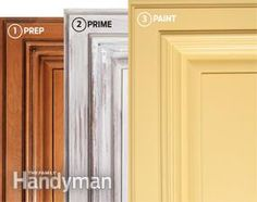Give Your Kitchen A Facelift How To Spray Paint Kitchen Cabinets