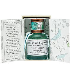 I don't usually like vanilla-y fragrances, but I smelled this today and it was so nice!   Library of Flowers - True Vanilla Eau de Parfum {