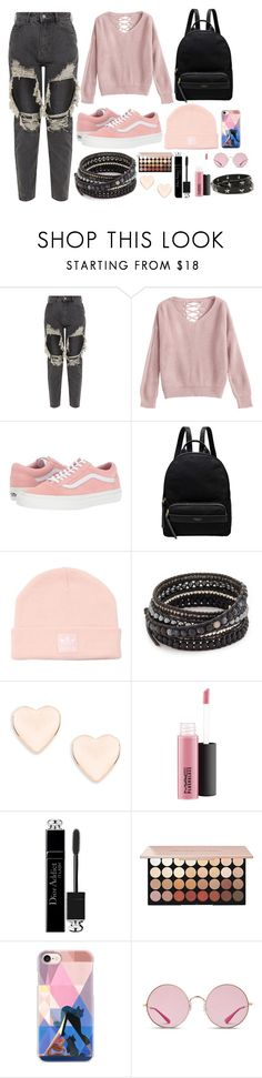 """27"" by thisisalle on Polyvore featuring Vans, Radley, adidas Originals, Chan Luu, Ted Baker, Christian Dior, Casetify, Ray-Ban and RED Valentino"