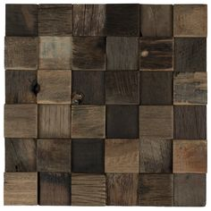 Mineral Tiles - Reclaimed Boatwood Mosaic Tile 2x2, $21.89 (https://www.mineraltiles.com/reclaimed-boatwood-mosaic-tile-2x2/)
