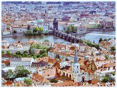 Ahora les invito a #Praga todo un paraíso!