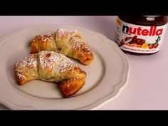 Nutella Croissants Recipe (simple version by using frozen puff pastry)- Laura Vitale - Laura in the Kitchen Episode 328