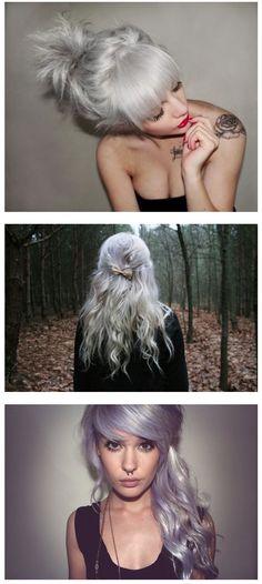 Silver #gray ♥ hair
