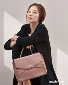 Kim Hyun Joo, Aigner 2016 Glass Slipper, Korean Actresses, For Stars, Girl Crushes, Marie Claire, Korean Girl, My Girl, Kdrama, Shoulder Bag