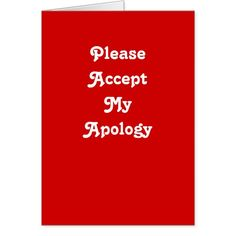 Shop Regret greeting card created by thewriteplace. Sorry Memes, Apology Quotes For Him, Im Sorry Cards, Apologizing Quotes, Love You, My Love, Custom Greeting Cards, Regrets, Thoughtful Gifts